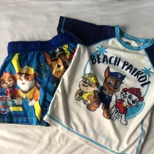 Paw Patrol Swim Set